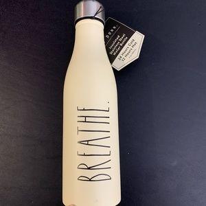 Rae Dunn Breathe 17 oz Insulated Water Bottle